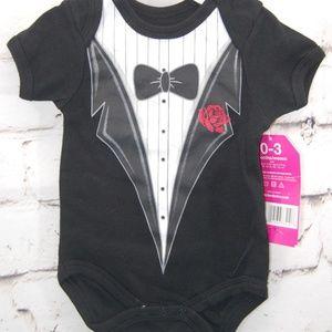 Infant Tuxedo Bodysuit